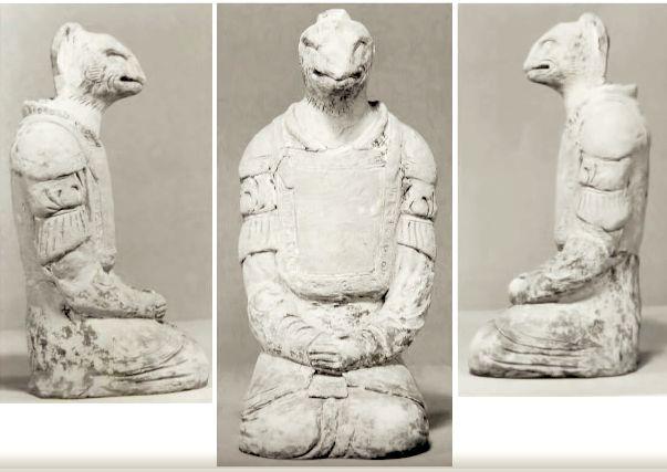 Statues at Horyuji Temple