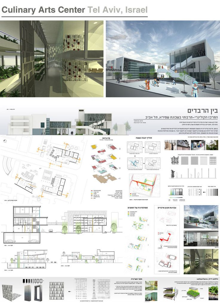 Culinary Arts Center, Tel Aviv by NoamM on deviantART