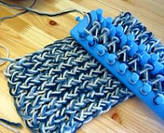 How To Tie Off A Loom Knitted Scarf