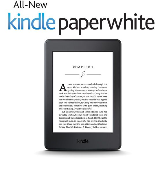 Kindle Paperwhite | I love my old kindle, but this is a newer version. It's a little smaller and lighter and comes with a built in back light. My current kindle doesn't have that and I do a lot of reading at night and a lot of that in the car.