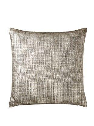 60% OFF Aviva Stanoff Basketweave Pillow, Silver