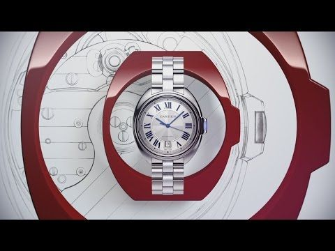CLE DE CARTIER – THE NEW WATCH BY CARTIER - YouTube