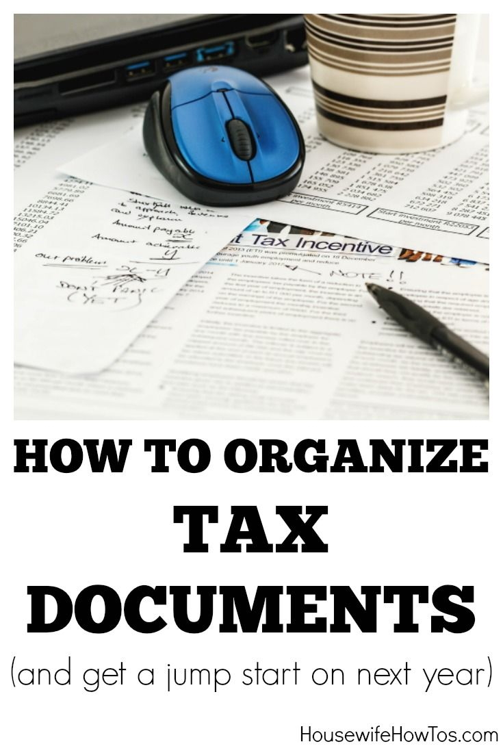 How To Get Organized For Tax Preparation - Love this list of papers to gather so I don't miss any deductions and get the big refund I'm due!