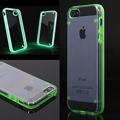 [XmasSale]Helder transparant Crystal Thin Case voor iPhone 5/5S (verschillende kleuren) - EUR € 2.01