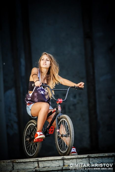 BMX Beauty Photography by Dimitar Hristov - 54ka amazing babe babes bicycle bicycling bike bmx casual cheerful city clothing extreme female girl image long hair nice outdoors portrait posing rider riding scene sitting skate smile smiling space sports street style stylish summer teen teenager urban woman women young