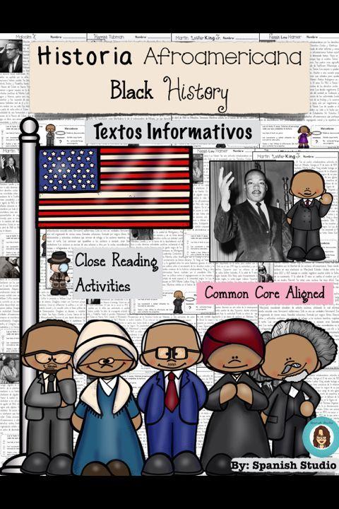 Black History activities in Spanish
