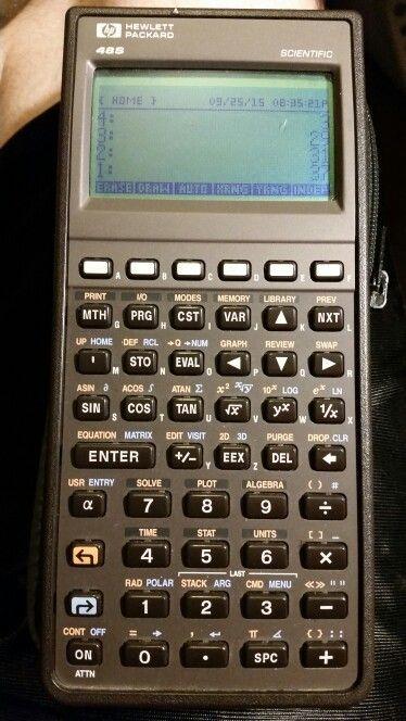 HP 48S RPN graphing scientific calculator