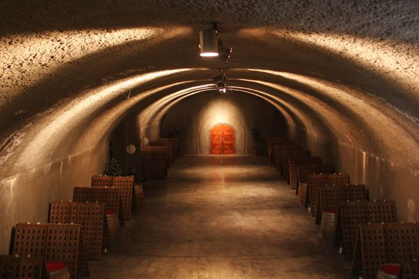 Gloria Ferrer Wine Caves! A Sonoma County favorite and favorite of ours!