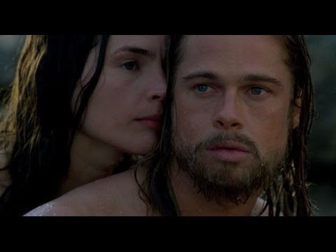 "Laura Pausini with Brad Pitt  Laura singing ""It's Not Goodbye""  CINEMATIC"
