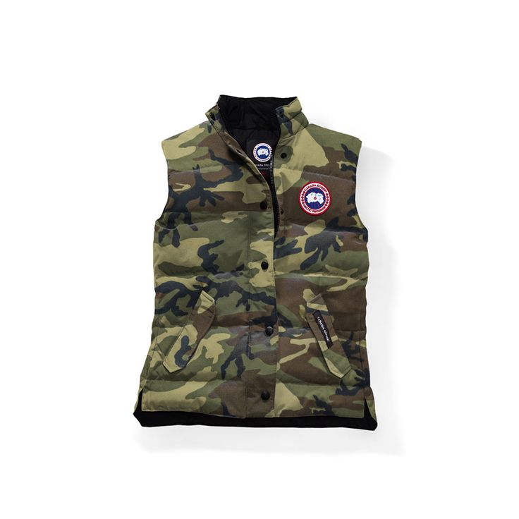 Women Canada Goose Classic Camo Freestyle Vest