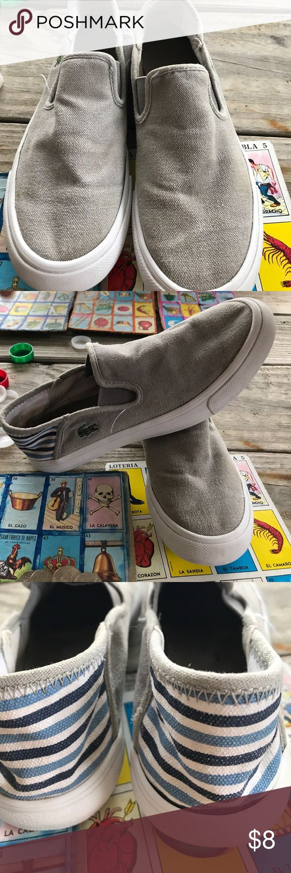 🌟Sale🌟 Lacoste Boys Shoes In used condition Lacoste Shoes Sneakers