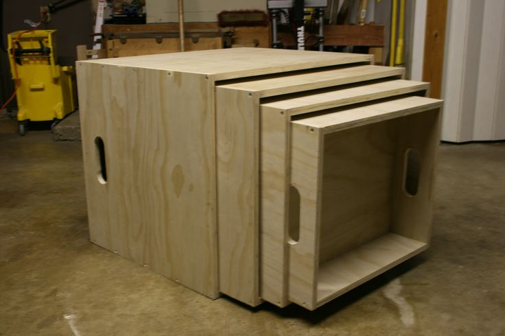 Stack-able Plyometric Boxes