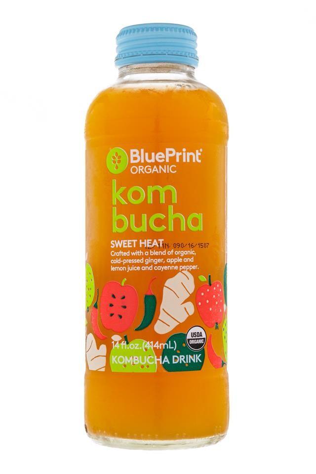 Fruit & Veggies #illustration for BluePrint kombucha drinks. #beverage #drink #leenakisonen #packagingdesign #packaging #kombucha #fresh #sweetheat