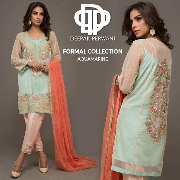 Deepak Perwani Formal Wear Collection for Winter 2016
