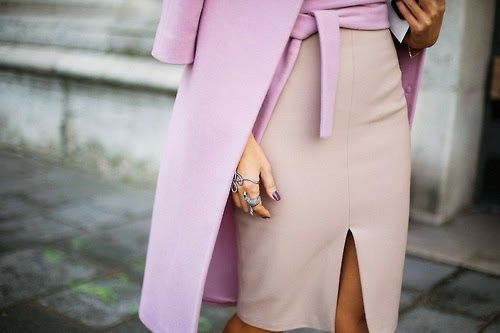Pink and nude, the best color combination for spring!