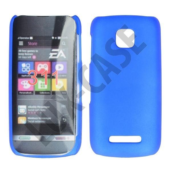 Nokia Asha 311 Kotelo Tummansininen