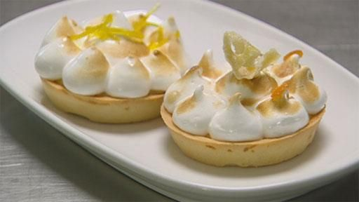 Baked Lemon Meringue Tart - Recipe by Vincent Gadan - Masterchef Australia
