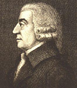 Portrait of Adam Smith, Economist