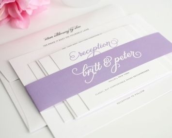 Classic Whimsy Wedding Invitations, Luvocracy