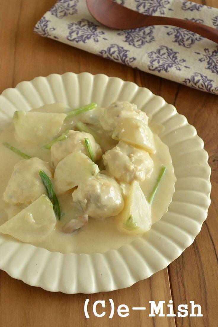 チキンボールのクリームシチュー by 柴田真希 | レシピサイト「Nadia | ナディア」プロの料理を無料で検索