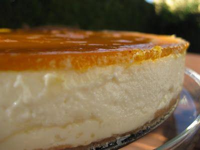 O Bolinho de Sábado: Cheesecake de Abóbora