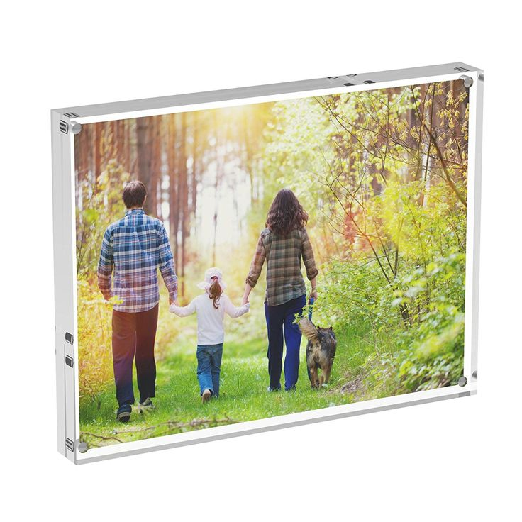 Acrylic Photo Frames, Stand with Magnets, Holds 6 X 8 Inches Pictures,10mm 10mm Thickness Transparent by Boxalls -- To view further for this item, visit the image link. (This is an affiliate link and I receive a commission for the sales)