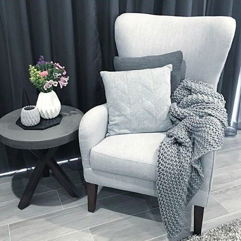 With sweeping curves, a high back rest and winged profile, the Globe Armchair is a timeless, statement making piece.