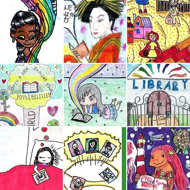 There Is So Much Talent In Los Angeles County Here Are Some Of The Winners Of Our Annual Bookmark Contest Weve Posted All La County Cards Los Angeles County