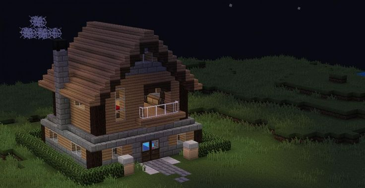 minecraft amazing house map | Old-school minecraft house Minecraft Project