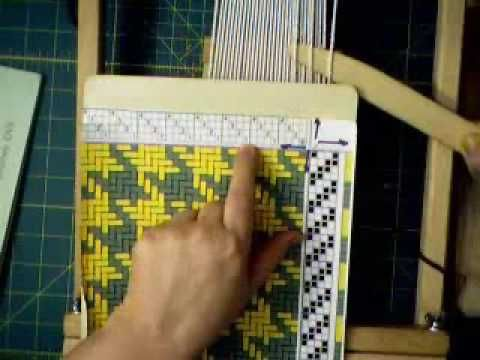 ▶ How to Read a Weaving Draft to use with String Heddles - YouTube