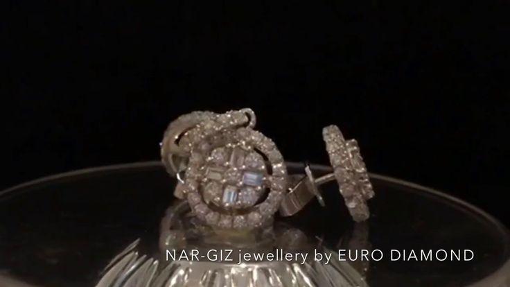 NAR-GIZ jewellery by EURO DIAMOND Серьги 750 пробы; 3, 67 грамм; бриллианты 1, 25 карат; 1 700 долларов. Кулон 750 пробы; 1,44 грамм; бриллианты 0,70 карат 1 300 долларов. 💎 nar-giz jewellery by EURO DIAMOND 💎 адрес: Баку, ул. Низами, 63А ( напротив ЦУМ-а )  📱 WhatsApp: +99450 214 81 82  📧 nargiz.jewellery@gmail.com http://instagram.com/nar_giz.jewellery http://facebook.com/nargiz.jewellery http://vk.com/nargiz.jewellery