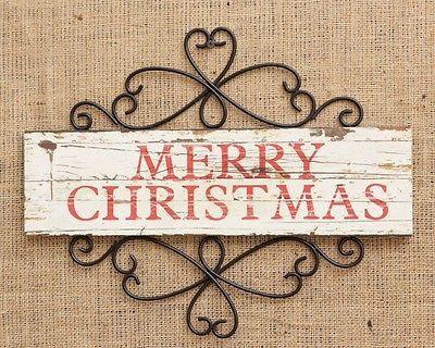 """Merry Christmas"" Sign"