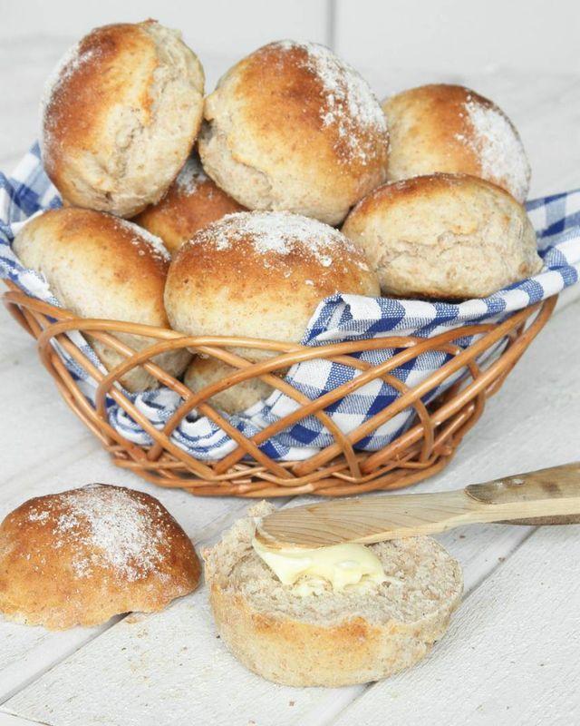 Fiberrika frukostbullar