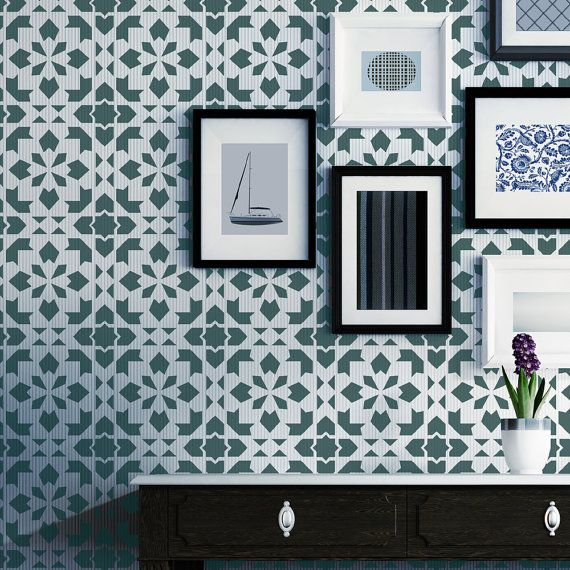 our moroccan wall stencils - photo #40