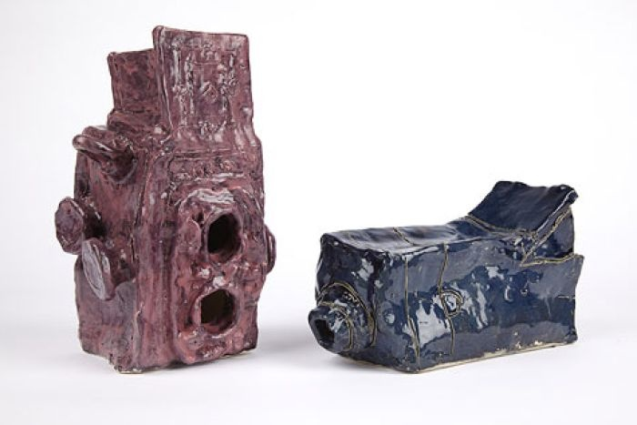 Ceramic artworks by Alan Constable from Arts Project, Australia.