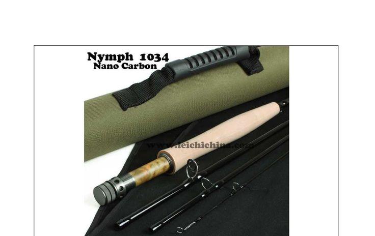 Nymph 1034 10-ft 4-piece 3 wt. IM12 Nano Carbon Blank