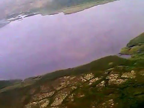 Полёт на Ванкор. Виды красноярского края с вертолёта..