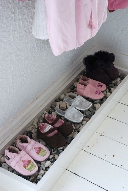 Good idea for the mud room