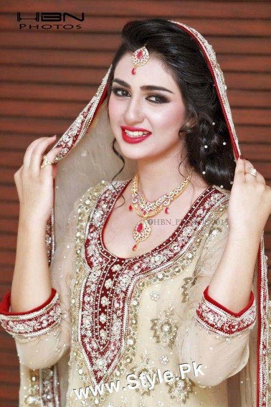 Sara Khan's Bridal Photoshoot | Style.Pk