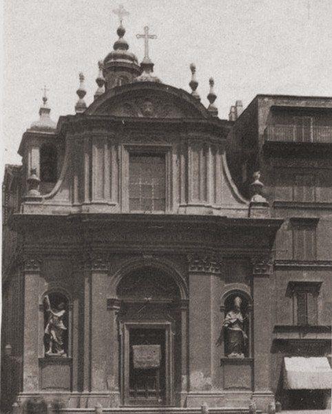 Kościół św. Klaudiusza – siedziba Generalatu w latach 1842-1886.