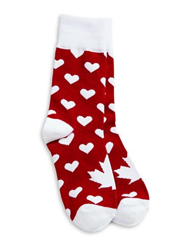 Olympic | Canadian Olympic Team Collection | Womens Heart Socks | Hudson's Bay
