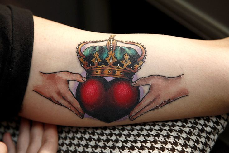 Traditional Irish Claddagh ring - Antony Flemming, World of Tattoos, UK - Imgur