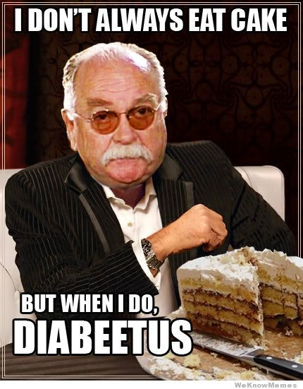 HAHA!: Laughing, Diabeetus, Funny Celebrity, Cakes, Funny Pictures, Giggl, Diabetes, Funny Stuff, Humor
