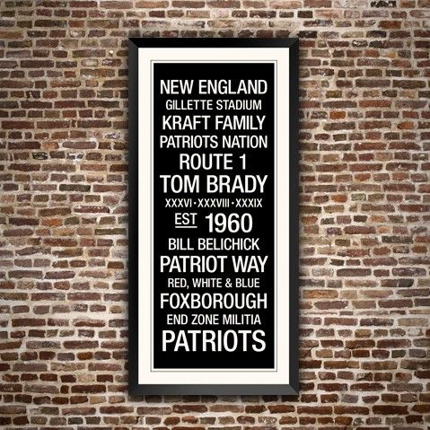 Patriots Wall Art 175 best new england patriots images on pinterest | new england
