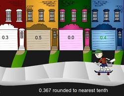 Η τάξη με τον ήλιο: Βόηθα τον Τζίμι, παιχνίδι με σύγκριση δεκαδικών αρ...