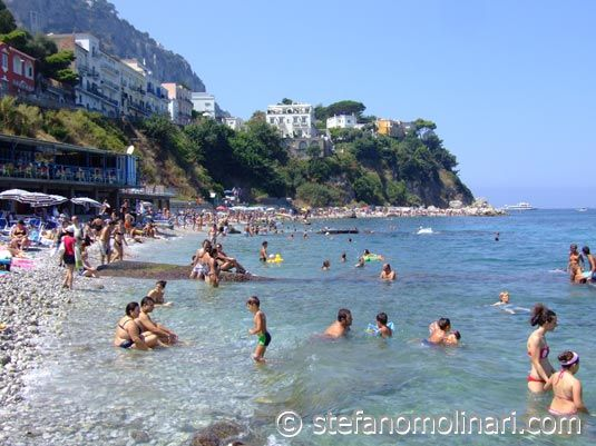 Capri | Capri Strände Capri - Foto Guide Capri Italien ...