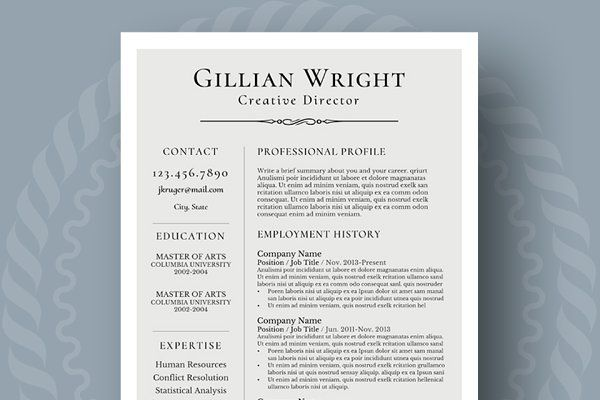 Resume Template + Cover Letter