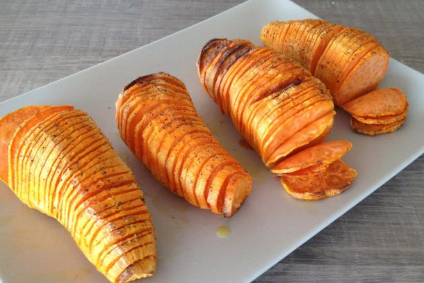 Super Crispy Oven Baked Sweet Potatoes