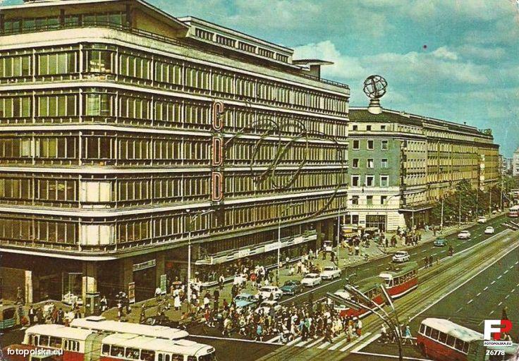 Lata 1965-1975 , Aleje Jerozolimskie i CDT na pierwszym planie