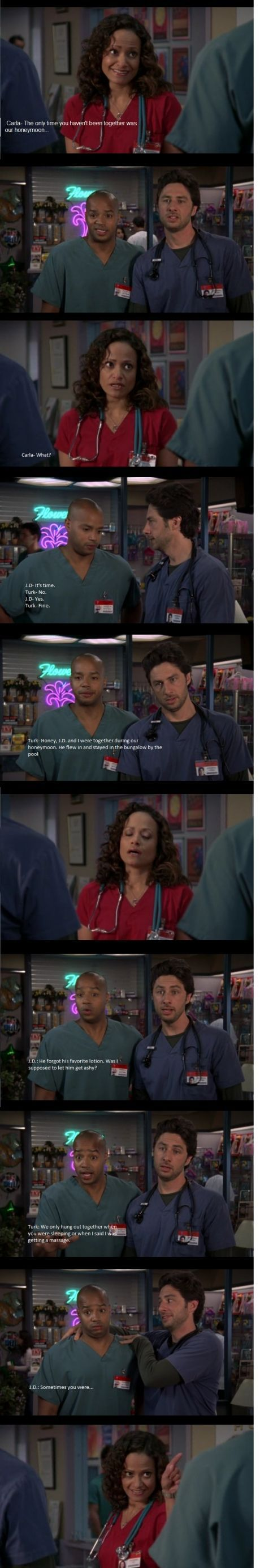 Scrubs - JD and Turk's friendship was one of a kind and fans wouldn't have it any other way.